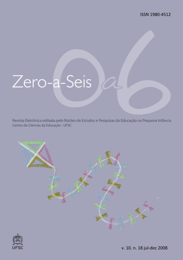Visualizar v. 10 n. 18 (2008): ZERO-A-SEIS (JUL./DEZ. 2008)