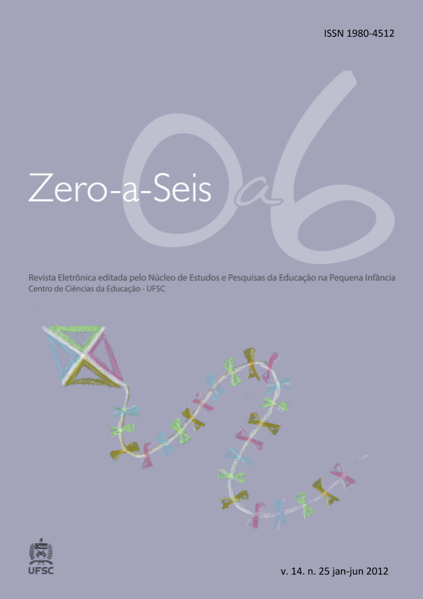 Visualizar v. 14 n. 25 (2012): ZERO-A-SEIS (JAN./JUN.2012)