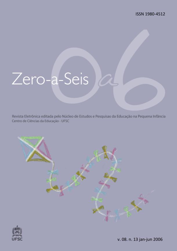 Visualizar v. 8 n. 13 (2006): ZERO-A-SEIS (JAN./JUN. 2006)