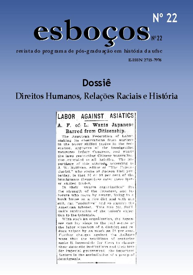 Dossiê: Direitos Humanos, Relações Raciais e História