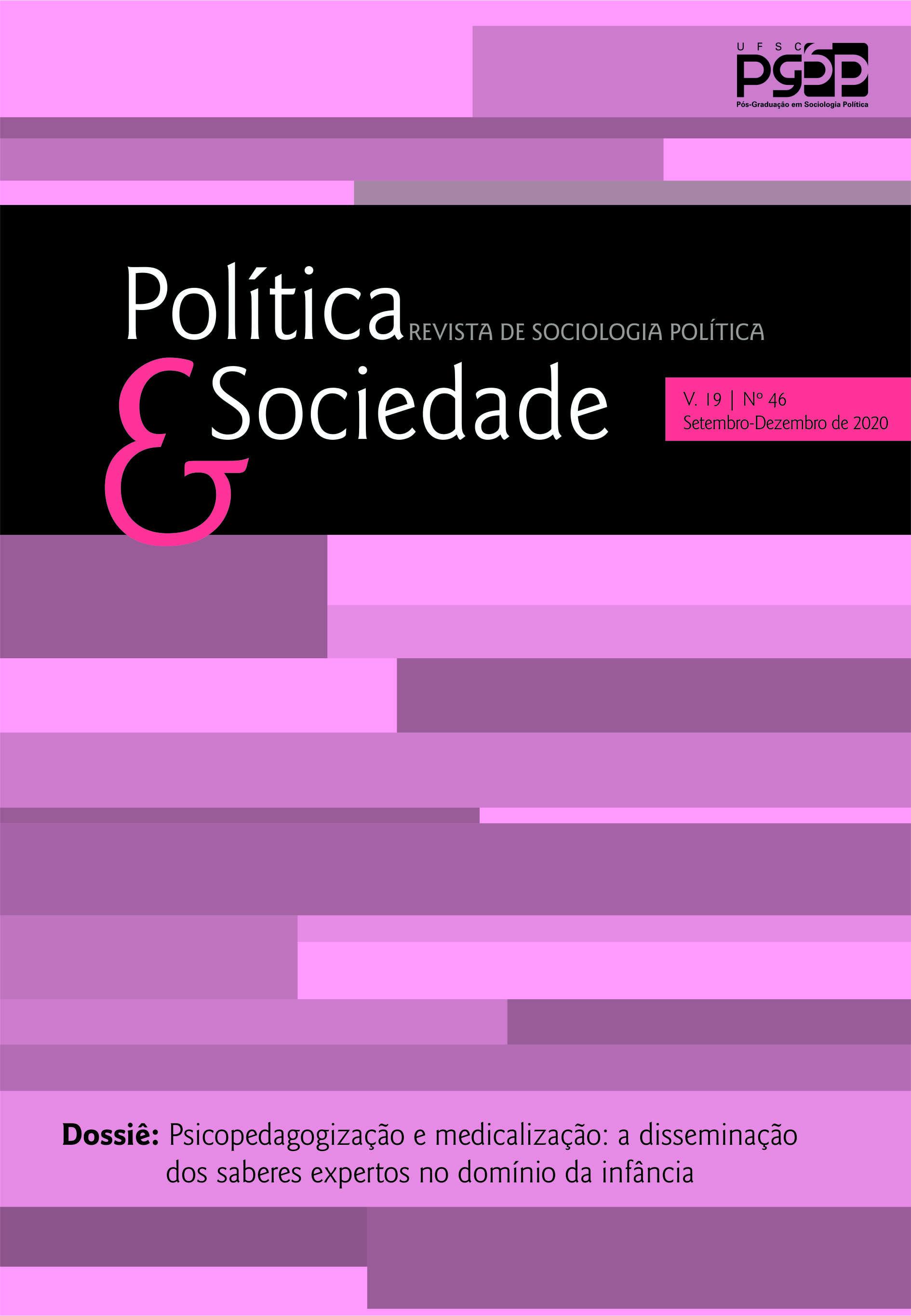 Visualizar v. 19 n. 46 (2020): Revista Política & Sociedade