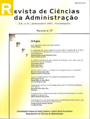 Visualizar V. 9, n. 17, jan./abr. de 2007