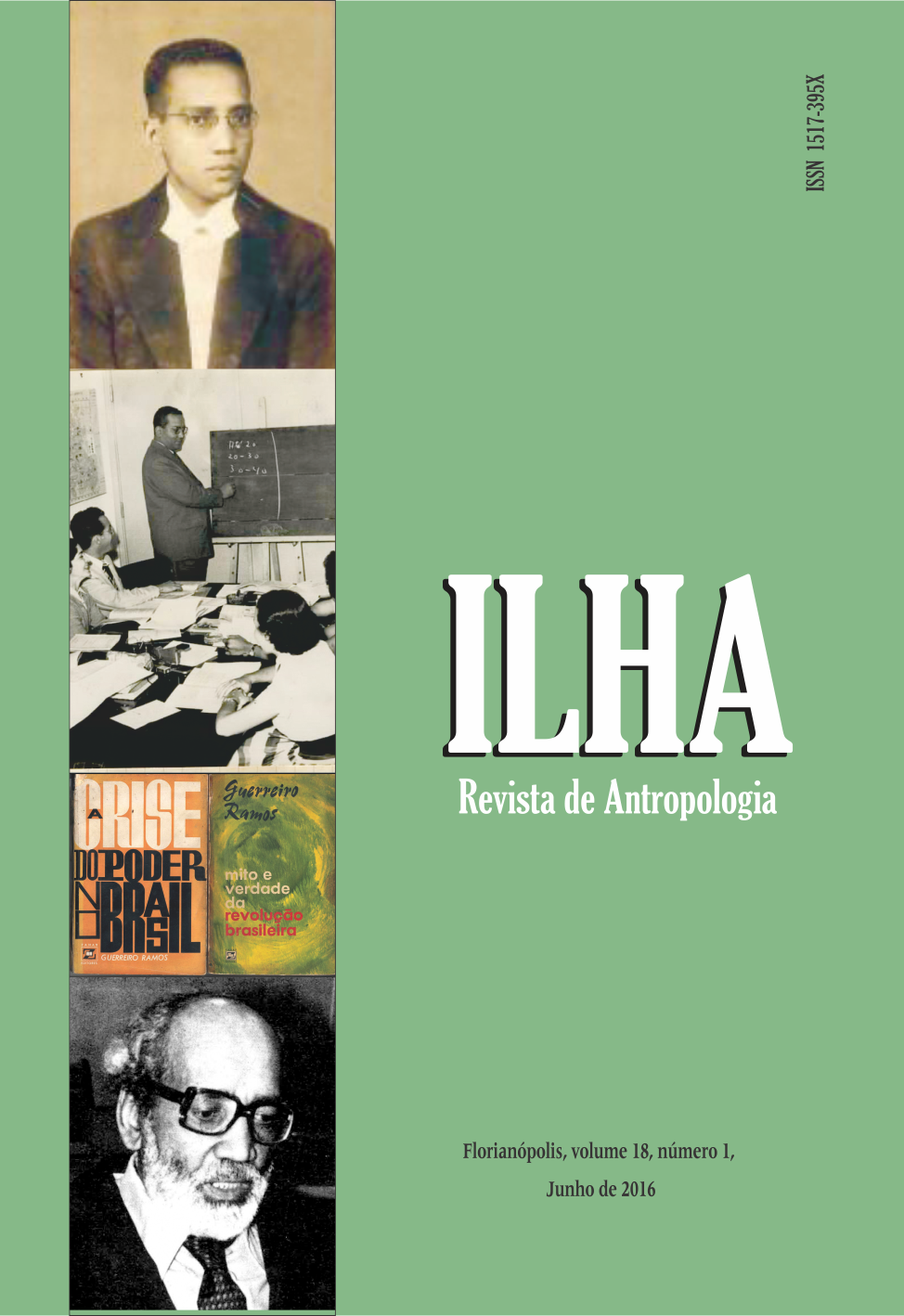 Editores do volume 18.1: Professora Doutora Ilka Boaventura Leite, e Professor Doutor Amurabi Oliveira