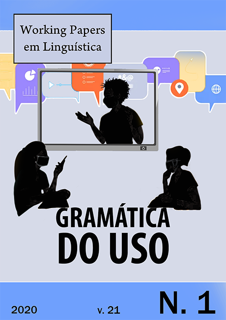 Visualizar v. 21 n. 1 (2020): Gramática do Uso