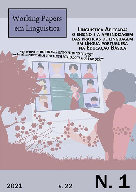 Visualizar v. 22 n. 1 (2021): Linguística Aplicada: reflexões sobre o ensino e a aprendizagem de língua em contextos diversos