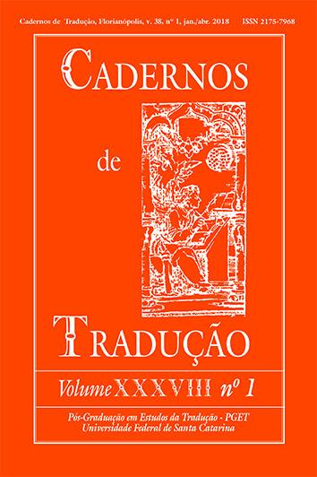 Capa Cadernos de Tradução XXXVIII