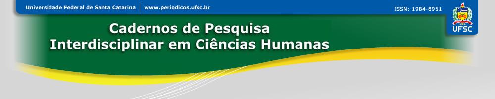 Cadernos de Pesquisa Interdisciplinar em Ciências Humanas