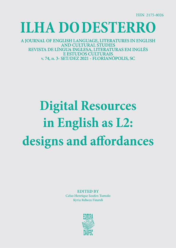 Visualizar v. 74 n. 3 (2021): Digital Resources in English as L2: designs and affordances