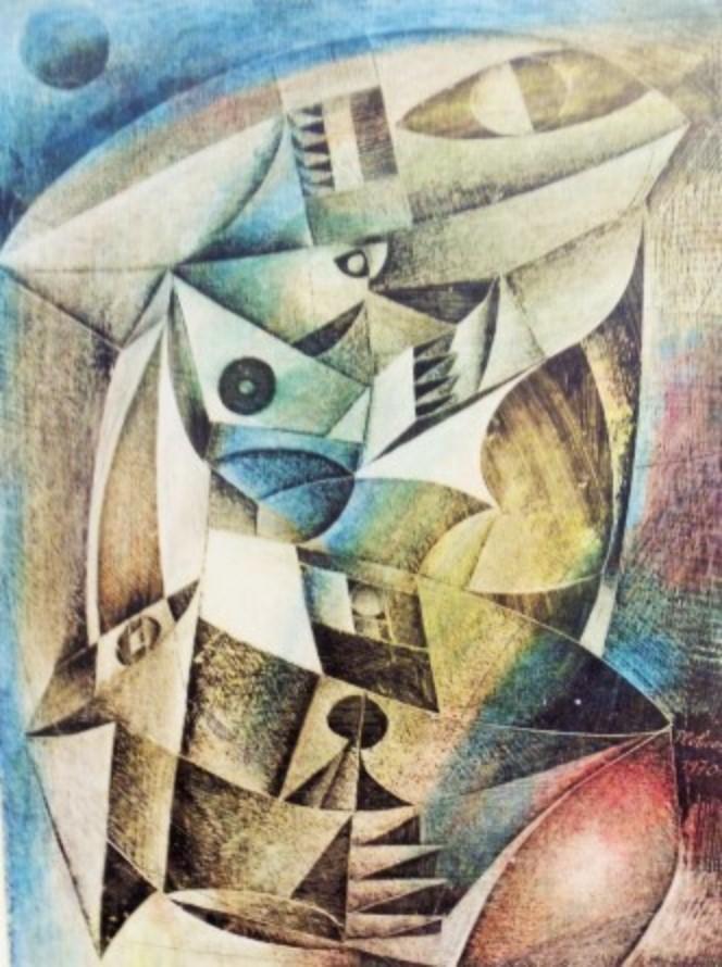 """""""Pescadores"""" (1970), de Sílvio Pléticos"""