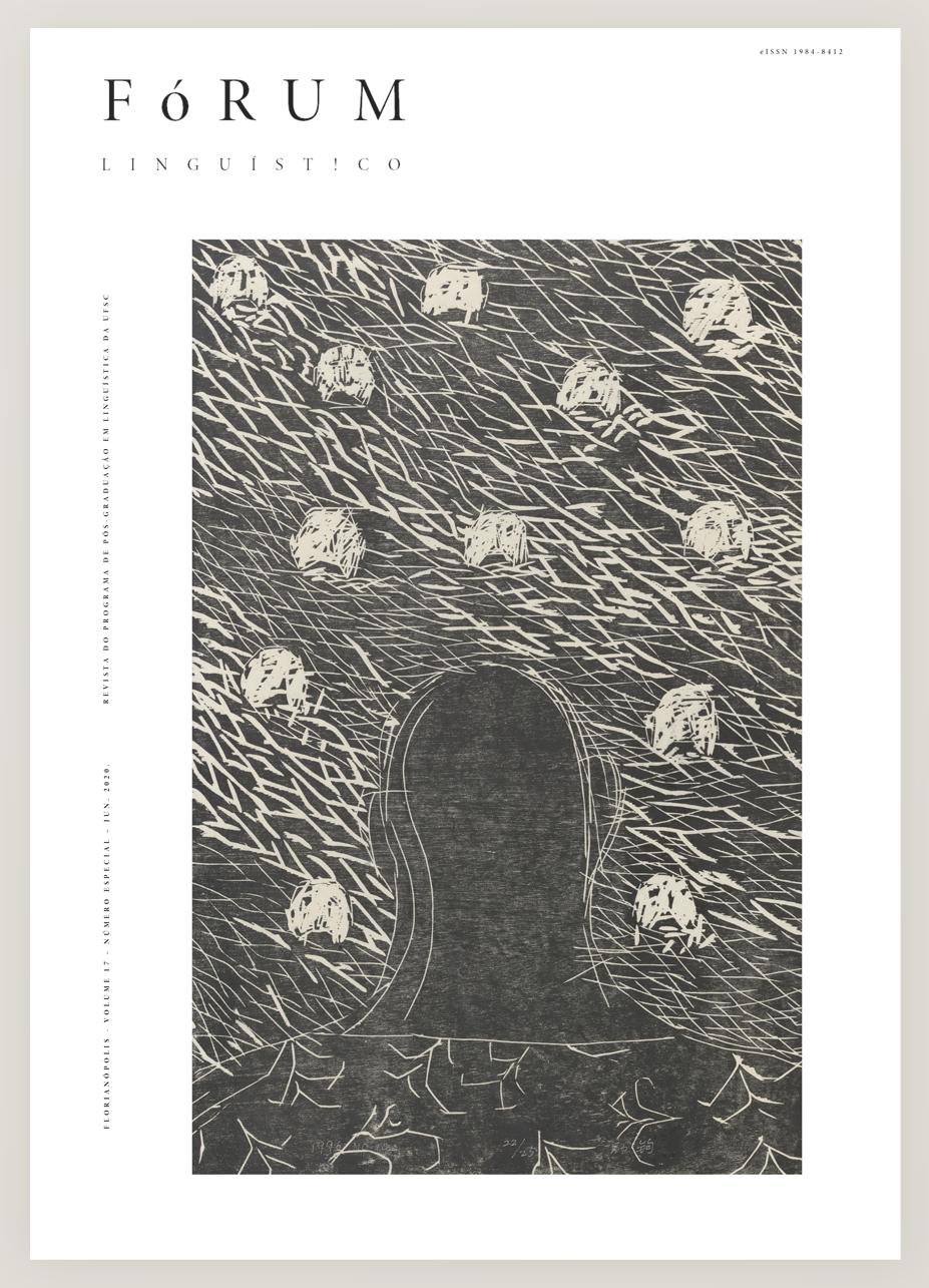 Visualizar v. 17 (2020): Número Especial - Linguística Formal - Uma homenagem a Dermeval da Hora