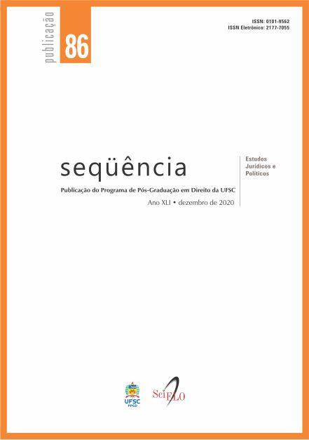 Visualizar v. 41 n. 86 (2020): Seqüência - Estudos Jurídicos e Políticos