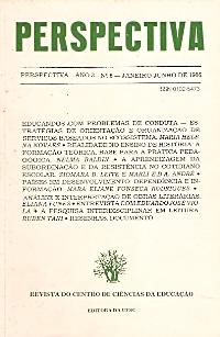 Visualizar v. 3 n. 6 (1986)