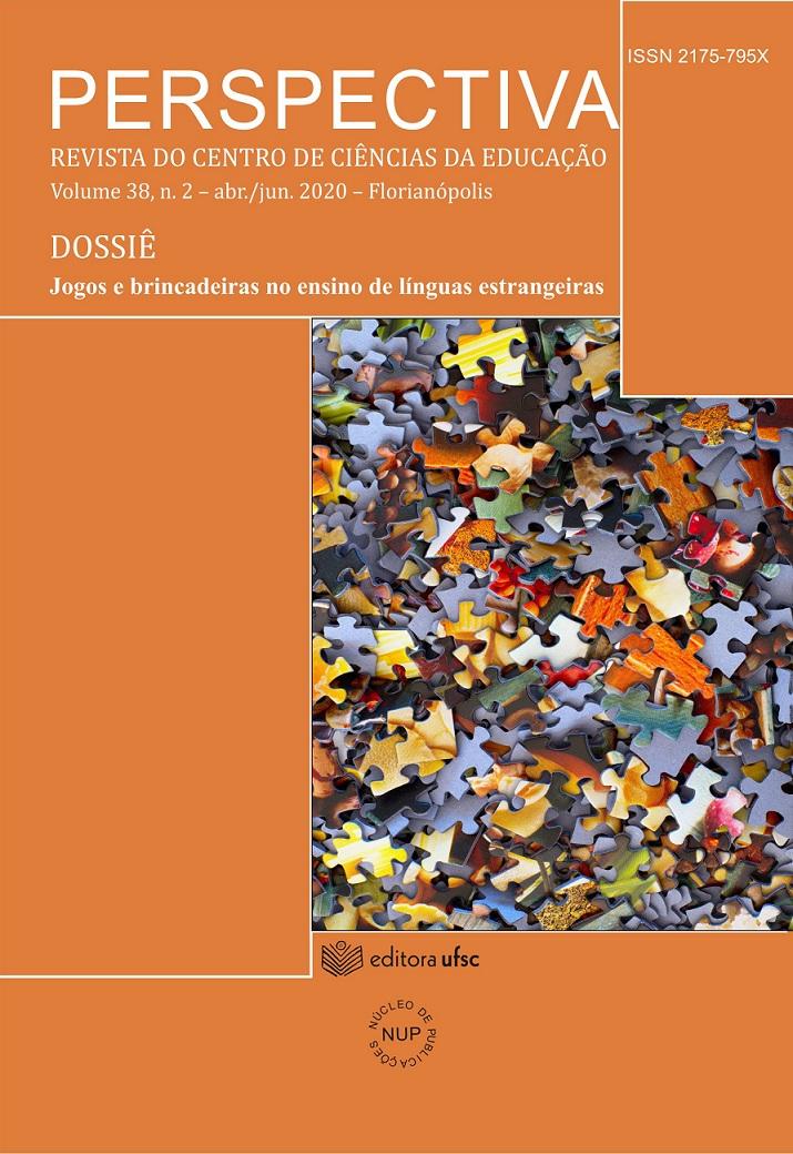 Visualizar v. 38 n. 2 (2020): Dossiê Jogos e brincadeiras no ensino de línguas estrangeiras
