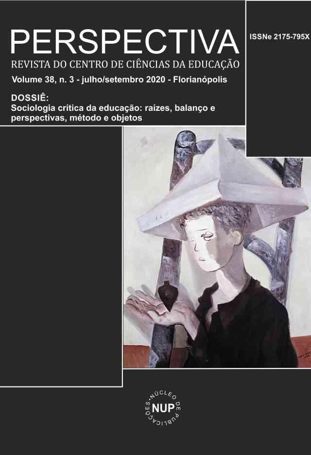 Visualizar v. 38 n. 3 (2020): Dossiê Sociologia Crítica da Educação: Raízes, Balanço e Perspectivas, Métodos e Objetos